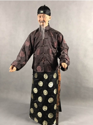 上海麦艺蜡像艺术:用惟妙惟肖的硅胶像 传承中国传统文化